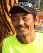 The Japan Chainsaw Art Union Chairman Naito