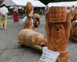 第9回東日本チェンソーアート競技大会