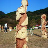 湧水町高原フェスタ チェンソーアート全国大会2016